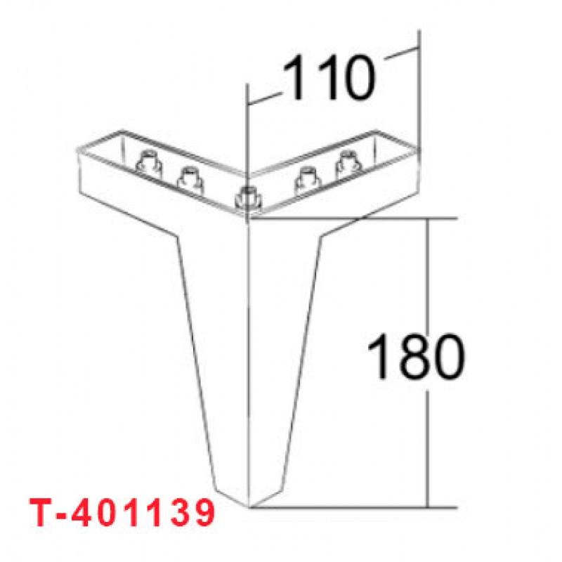 Декоративная опора для мягкой мебели T-401139