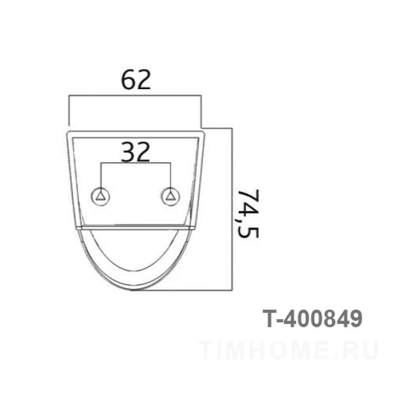 Декор для мягкой мебели T-400849