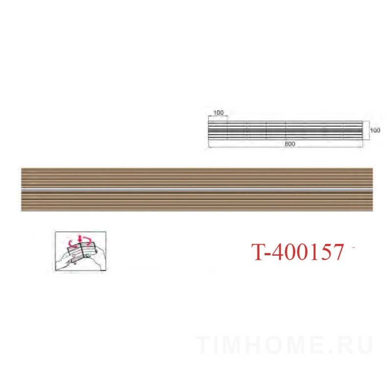 Декор для мягкой мебели T-400157