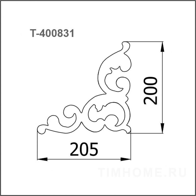 Декор для мягкой мебели T-400831