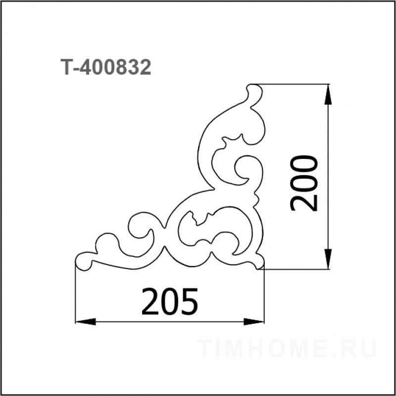 Декор для мягкой мебели T-400832
