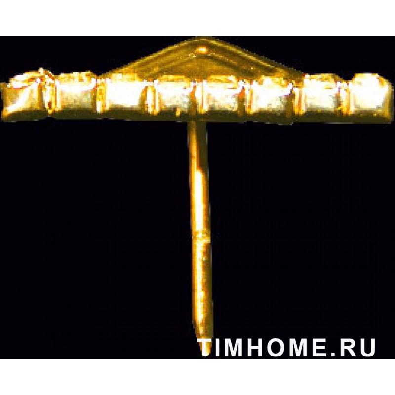 Гвозди мебельные декоративные стразы №5 25x25мм THG K08025