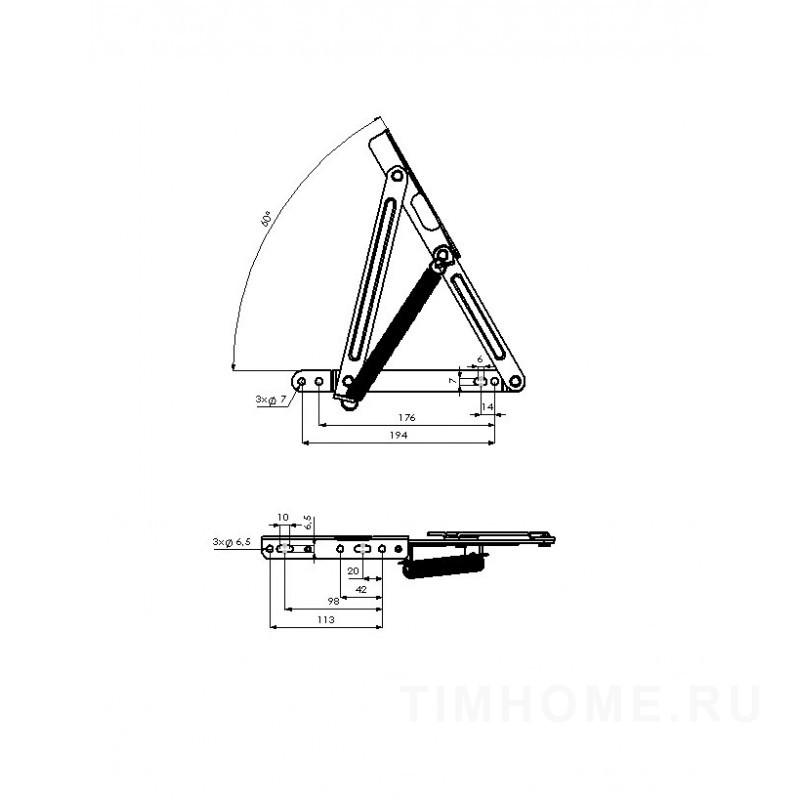 Механизм подъема дивана TML - 16