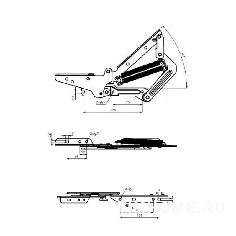 Механизм подъема кровати TML-20