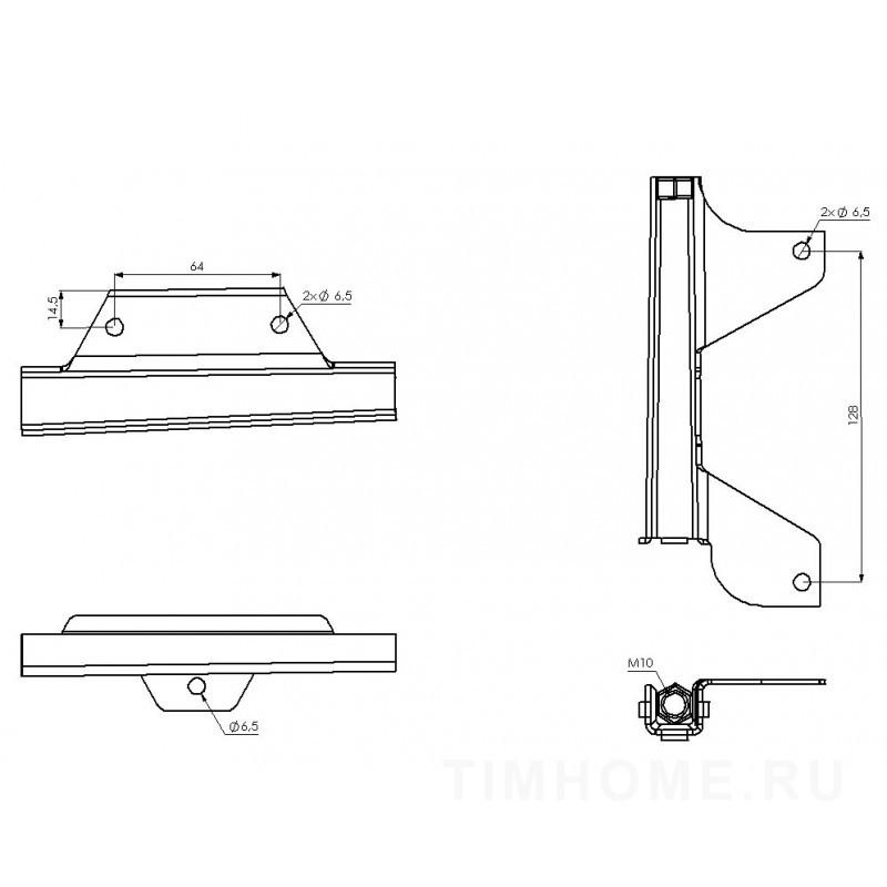 Механизм для подъема боковинок дивана, кресла TML - 35
