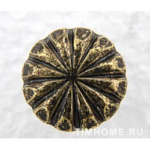Гвозди мебельные декоративные Цветок 16х19мм THG 010160