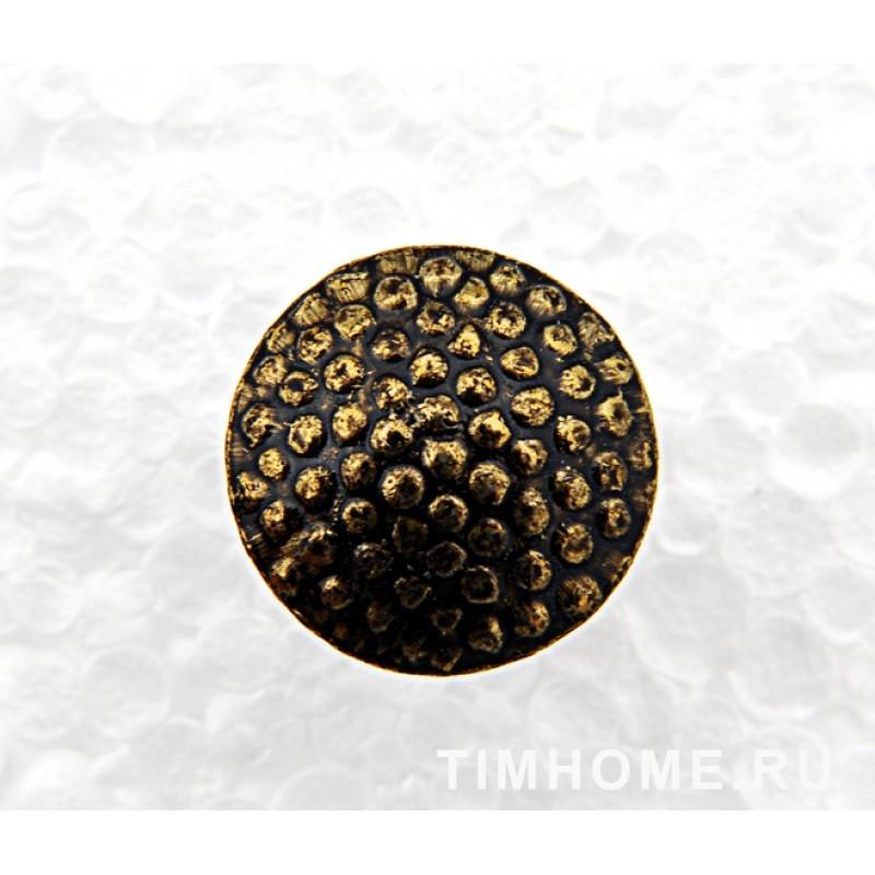 Гвозди мебельные декоративные Галька 11х16 мм THG 014110