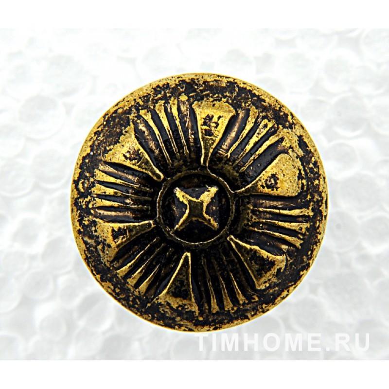 Гвозди мебельные декоративные Лепесток 16х19 мм THG 012160