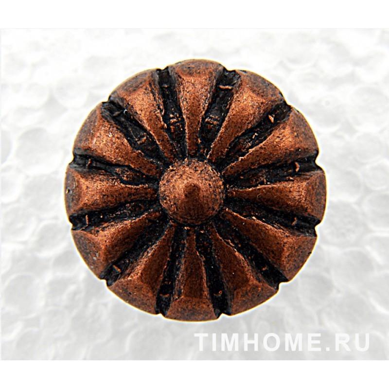Гвозди мебельные декоративные Маргаритка 16х19мм THG 004160