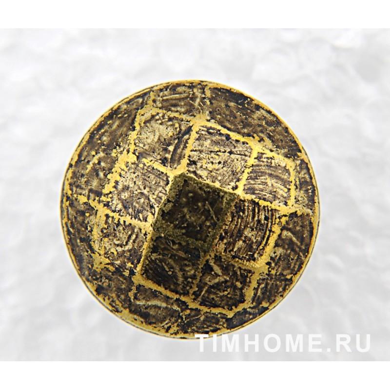 Гвозди мебельные декоративные Многогранник 18х20 мм THG 007180