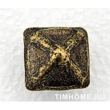 Гвозди мебельные декоративные Пирамида 24х23 мм THG 016240