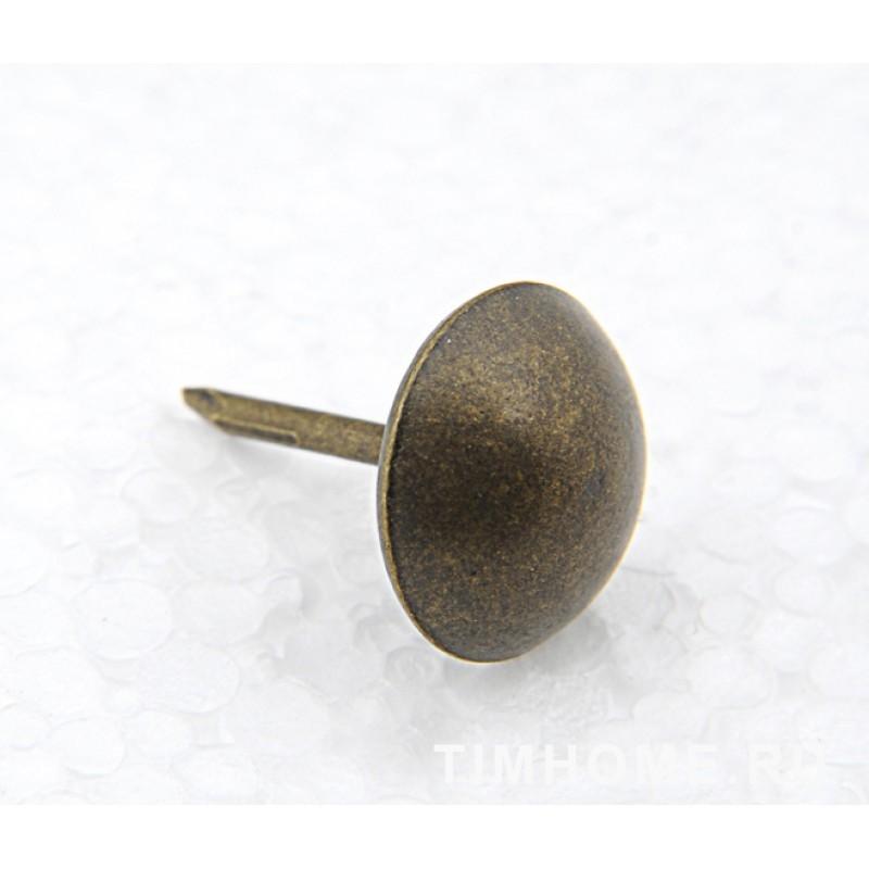 Гвозди мебельные декоративные Сфера 15х19 мм THG 002115