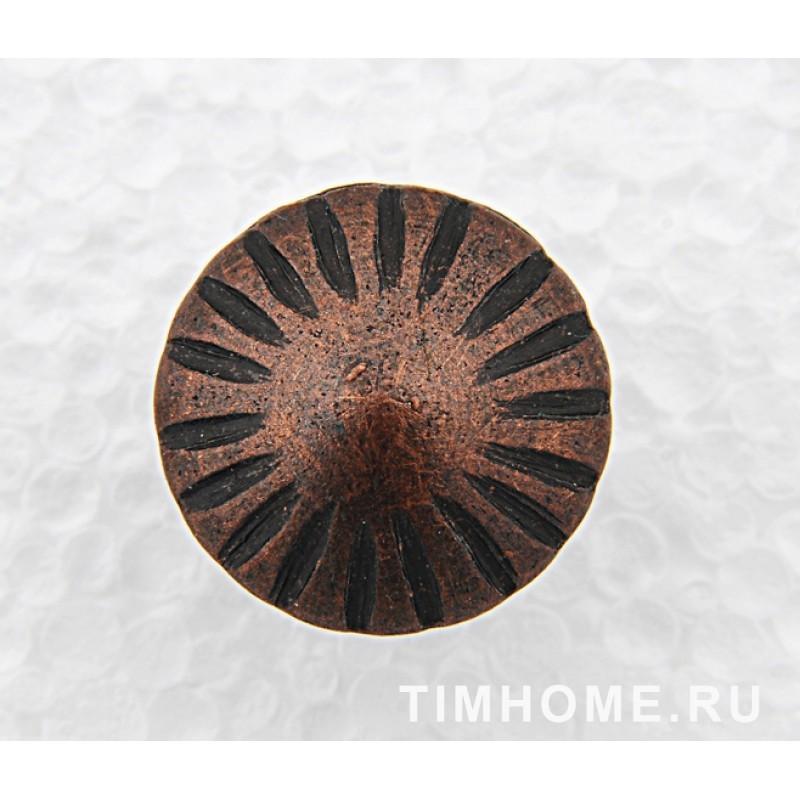 Гвозди мебельные декоративные Солнце 11х16 мм THG 009110