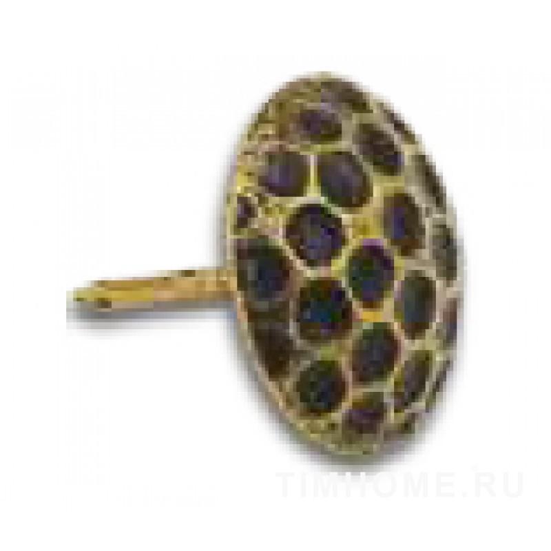 Гвозди мебельные декоративные Соты 16х19мм THG 003160